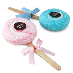 Lollipop Towel Favor
