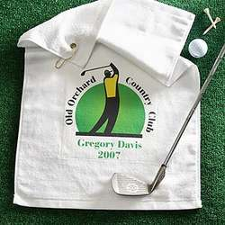 You Name It© Custom Golf Towel