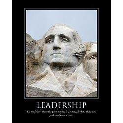 Leadership Personalized Print