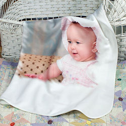 Large Fleece Baby Blanket