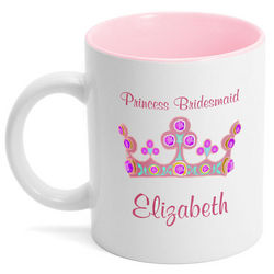 Princess Bridesmaid Coffee Mug