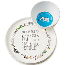 The World is Wonderful Dish Set
