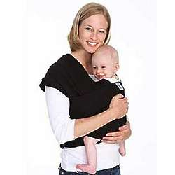 Black Organic Moby Baby Wrap