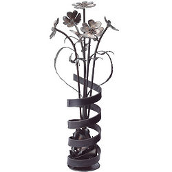 Rustic Corkscrew Bouquet Sculpture