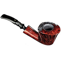 Half Bent Smooth Nording Burgundy Pipe