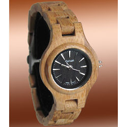 Ladies' Bamboo Watch