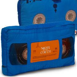 VHS Cassette Tape Pillow
