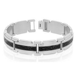 Kahuna Stainless Steel Tribal Bracelet