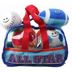 All Star Sports Bag with Soft Toys