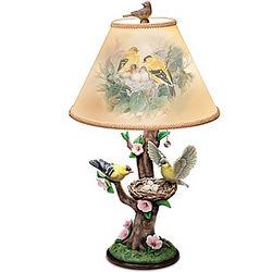 Nature's Poetry Bird Lamp