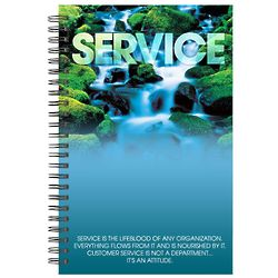 Service Waterfall Spiral Notebook