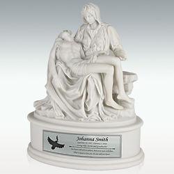 Michelangelo's Pieta Cremation Urn