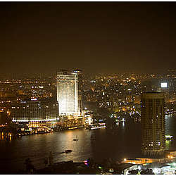"View From Cairo Tower - Grand Hyatt 8"" x 10"" Photo"