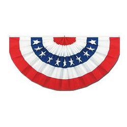 Cardboard American Flag Bunting
