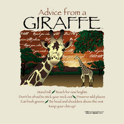 Advice From a Giraffe T-Shirt