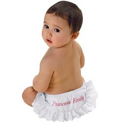 Personalized Ruffled Diaper Cover
