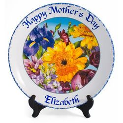 Personalized Mother's Day Plate
