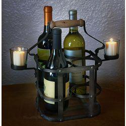 4 Bottle Avignon French Wine Carrier