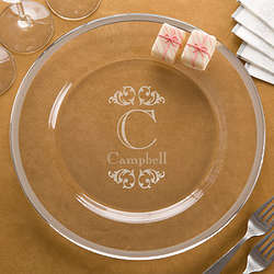 Engraved Personalized Serving Platter
