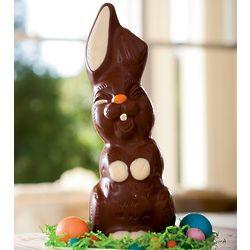 Medium Funny Milk Chocolate Bunny