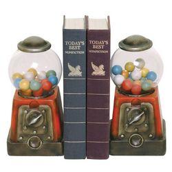 Gum Ball Machine Bookends