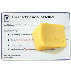 404 Error Snack Tray