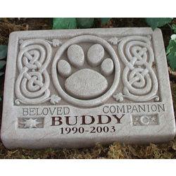 Personalized Celtic Pet Stone