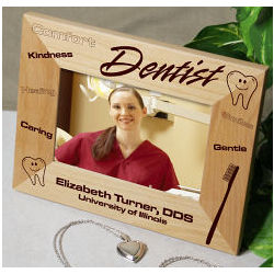 Personalized Dentist Frame