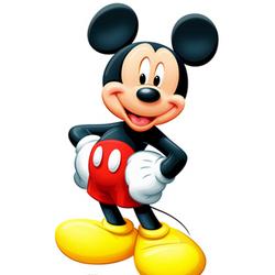 Mickey Mouse Cutout