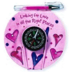 Love Compass Pad & Pen Set