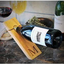 Balancing Act Personalized Wine Bottle Holder