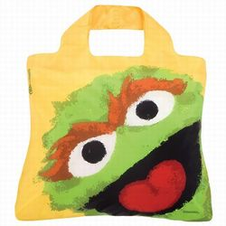 Sesame Street Oscar the Grouch Reusable Shopping Bag