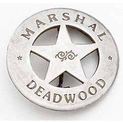 Deadwood Marshal Badge