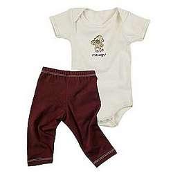 Baby's Monkey Bodysuit and Leggings