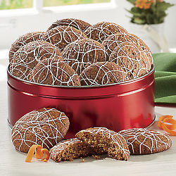 Carrot Cake Cookies Gift Tin