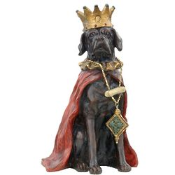 King Pooch Sculpture