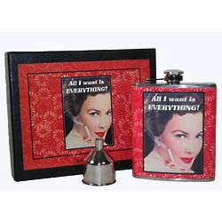 All I Want is Everything Flask