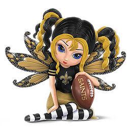 Little Bit of Magic New Orleans Saints Fairy Figurine