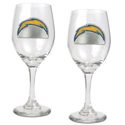 San Diego Chargers Wine Glasses