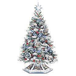 Musical Christmas Tabletop Tree