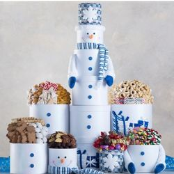 Image result for 3 Foot Snowman Gift Tower