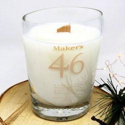 Maker's 46 Bourbon Handmade Bottle Candle