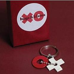 Hugs and Kisses Keychain