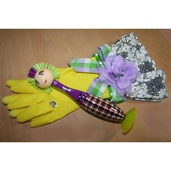 Fancy Dish Cleaning Gloves and Scrubber