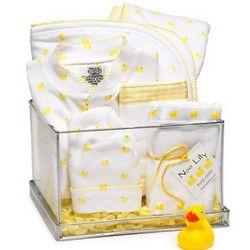 Duck Print Baby Set