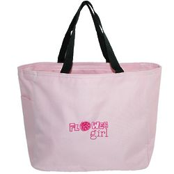 Flower Girl Pink Tote Bag