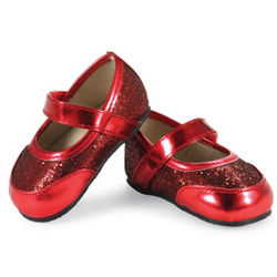 Baby Red Mary Jane Shoes