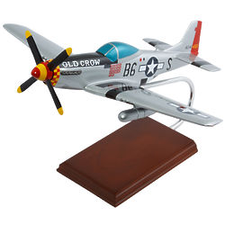 P-51 Mustang Old Crow Model Airplane