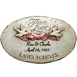Personalized True Love Plaque