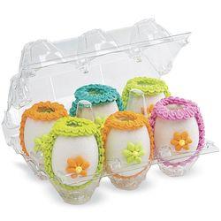 Miniature Panoramic Edible Eggs Set